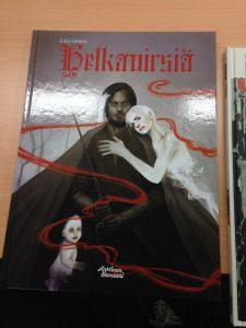 Niealさんが持ってきてくれたフィンランドのマンガ