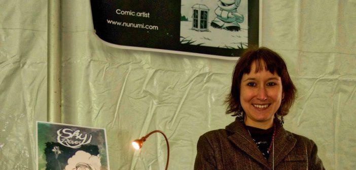 海外マンガ交流会―ケベックのBD作家ヌヌミさんをお招きして